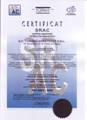 Certificat SR EN ISO 9001:2008